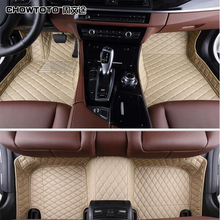 CHOWTOTO AA Custom Special Floor Mats For Porsche Panamera Easy To Clean Carpets For Panamera Foot Carmat(China)