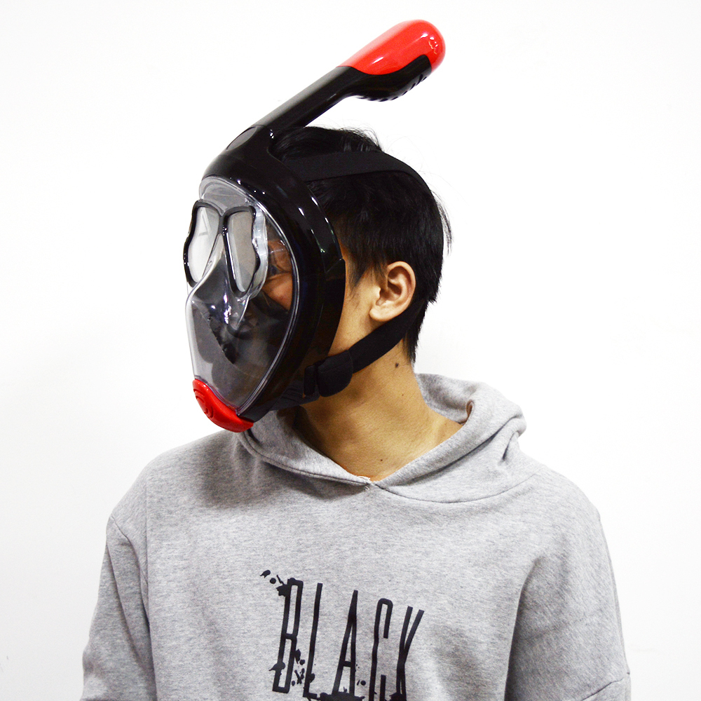 Liquid Silicone+PC Full Face Diving Mask (32)
