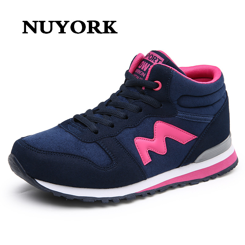 NUYORK New Shoes Autumn Womens Soft Fashion Breathable Lady High Quality Leisure woman Fitness Casual shoes Thick Soled Shoe <br>