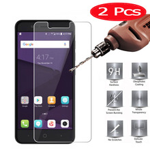2 Pieces HOPELF Tempered Glass for ZTE Blade V8 Lite Glass on Screen Protector Phone Film for ZTE Blade V8 Lite Tempered Glass