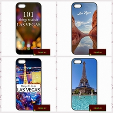 Las Vegas Strip North Side Phone Cases Cover For iPhone 4 4S 5 5S 5C SE 6 6S 7 Plus 4.7 5.5 AM0148(China)