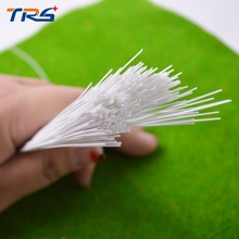 FREE SHIPPING 100pcs 1.0mm ABS round plastic rod 50cm length scale model plastic round building material rod