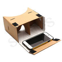 DIY Google Cardboard 3d Glasses Virtual Reality Glasses Vr Box 3d Glass Private Theater For Iphone Android 4-6' Smartphone