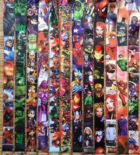 Free shipping 10pcs/lot new Fashion cartoon  Super Heroes lanyards mobile phone neck key chain
