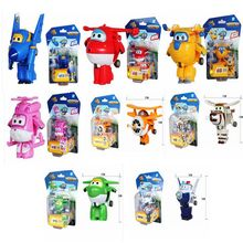 Original Box Super Wings toys Mini Transformation toys Robot Action Figure ABS Brinquedos kids toys for gifts