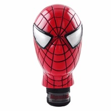 Universal Car Truck Manual COOL Gear Stick Shift Lever Knob Carved Spider Man Red MOMO Gear Shift Knob