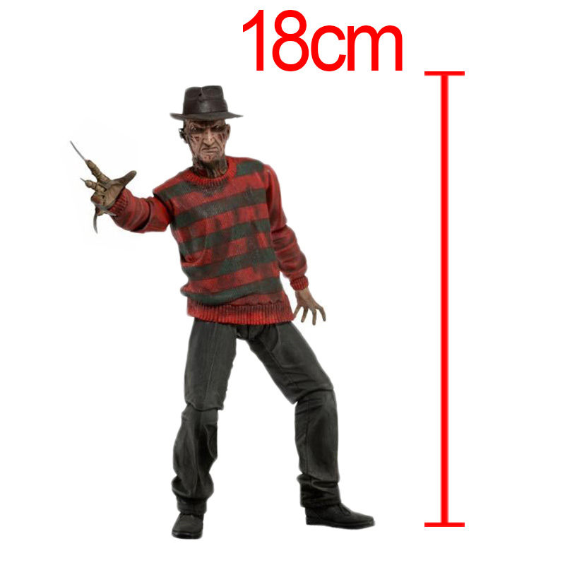 CF Movie A Nightmare On Elm Street Freddy Krueger PVC Action Figure Collection Model Dolls Toy Brinquedos<br>