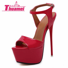 New Fashion Thin High-heeled Shoes Sexy Woman Pumps Women's Shoes Fashion Super High Heels Women Shoes Best #Y3283531G(China)