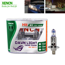 XENCN NEW  H1 12V 100W P14.5s 3800K Second Generation Dawn Light Replace Upgrade Car Headlights Super Bright Halogen for lacetti