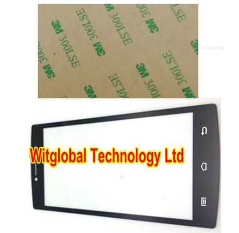 Free 3M tape + Original New 5 inch Primux Alpha 4 touch Screen Panel Glass Digitizer Replacement Free Shipping<br>