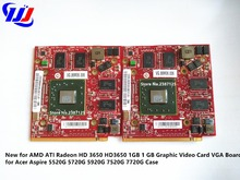 New for AMD ATI Radeon HD 3650 HD3650 1GB 1 GB Graphic Video Card VGA Board for Acer Aspire 5520G 5720G 5920G 7520G 7720G Case