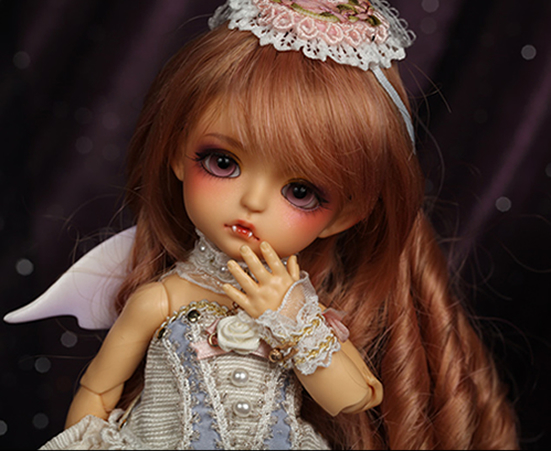 flash sale!free shipping!free makeup&amp;eyes!top quality bjd 1/8 baby doll lati Bat Children ver. Sp.Lea tan [Bati] BB yosd hot toy<br><br>Aliexpress