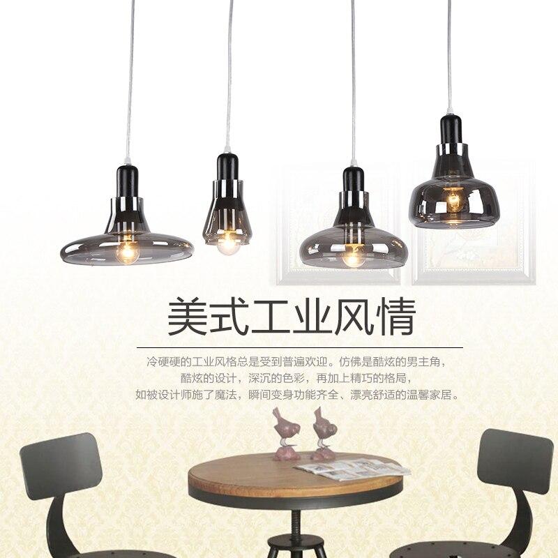 lampara vintage Pendant light retro lamp Industrial Edison Lamps nordic Loft lights Fixtures Glass Lustre Industriel Lamp<br>