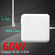 New! High Quality 60W MagSafe Laptop Power Charger Adapter (WITH LOGO) For Apple MacBook Pro 13''A1184/A1185/A1278/A1342/A1344.