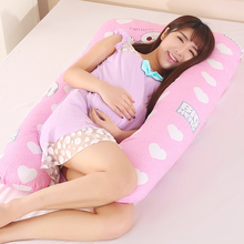 New U Shape Total Body Pillow Pregnancy Maternity Pillow Maternity Belt Body Character Baby Pregnancy Side Sleepers Cushion(China)
