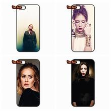 For Huawei Ascend P6 P7 P8 P9 Lite Mate 8 Honor 3C 4C 5C 6 7 4X 5X G8 Plus British pop singer Adele Adkins Phone Cover Case