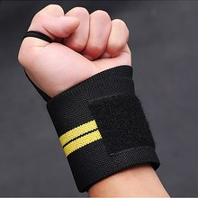 1pc Sports Wrist Support Breathable Weightlifting Tennis Golf Wristband Bracer Fitness Gym Wrist Protector VES61 P15(China)