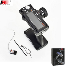 Flysky FS-GT3B FS GT3B 2.4G 3CH Gun RC System Transmitter with Receiver For RC Car Boat with LED Screen(China)