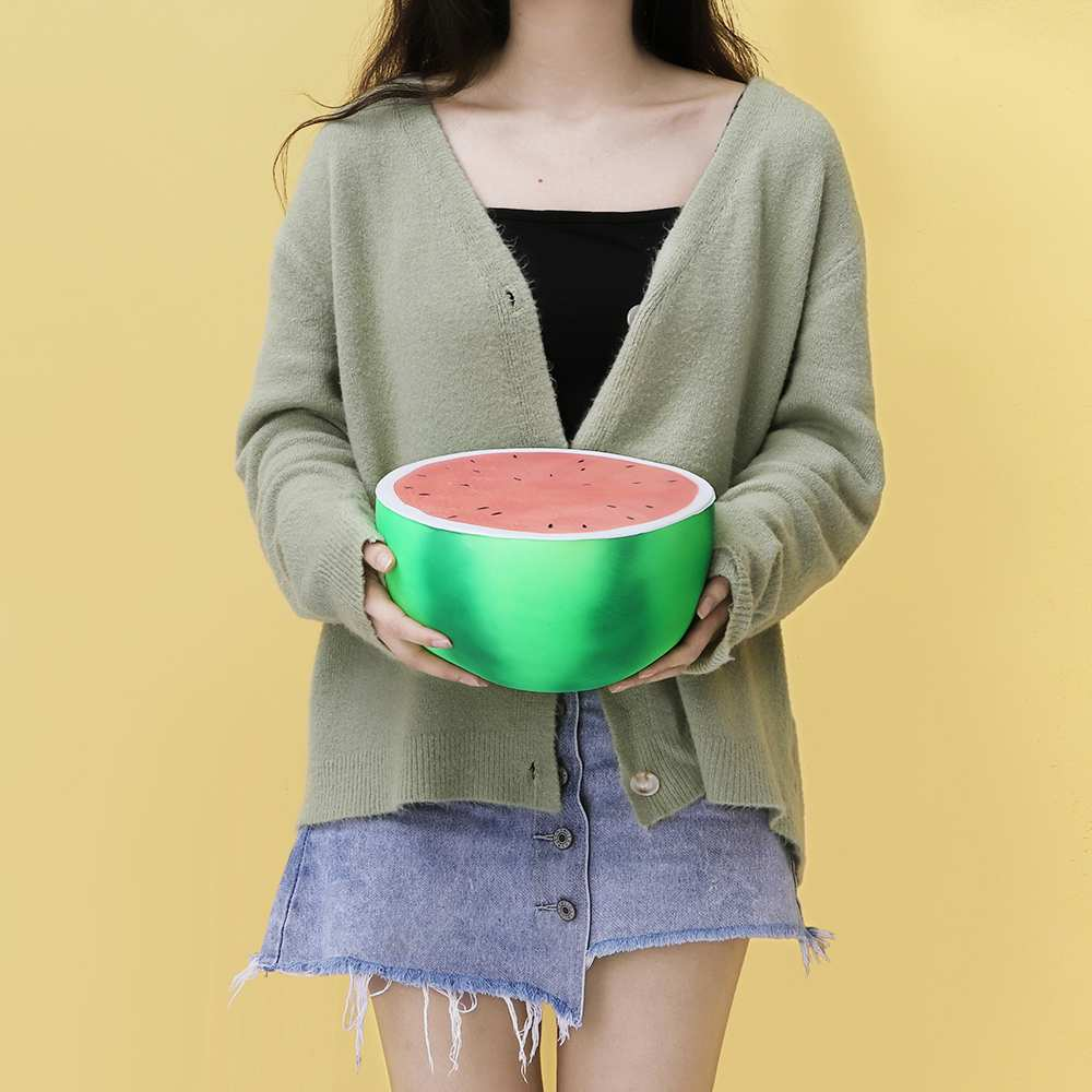 25cm Jumbo Color Changing Watermelon Squishy Slow Rising Toy 2