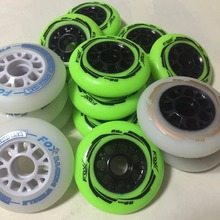 4 Piece Quality 85A speed inline skates Wheels 90mm High Rebound PU Race Skates wheel Wear-Resisting rodas for patines en linea(China)