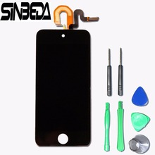 Sinbeda LCD Screen For Apple ipod Touch 5 5th LCD Display + Touch Screen with Digitizer Full Assembly,for ipod touch 6(China)