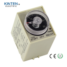 220VAC ST3PF Power off delay time Relay range 0-30 seconds with Socket Base PF083A