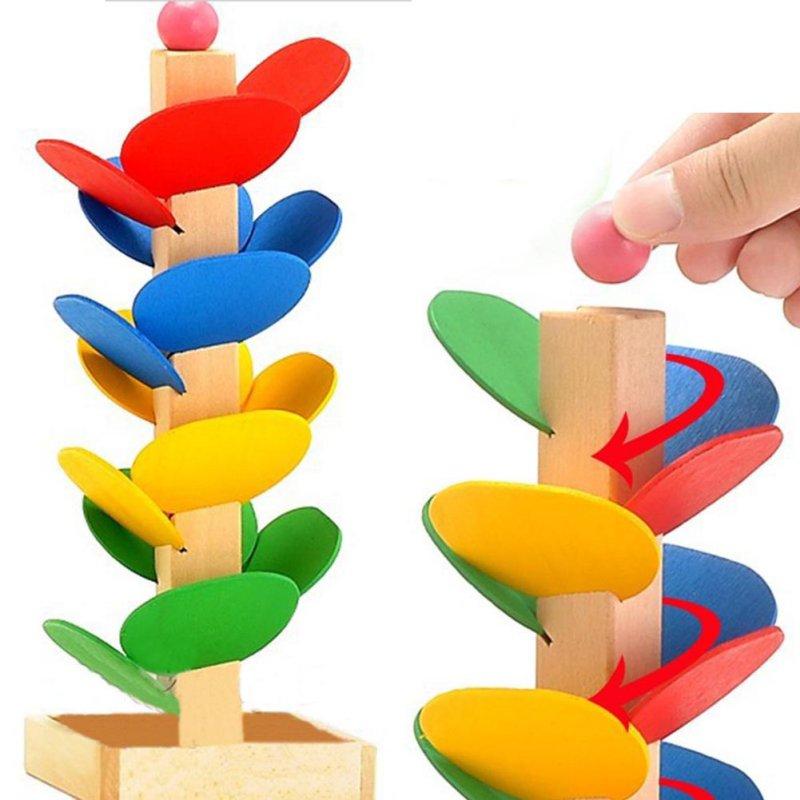 Wooden Montessori Educational Blocks Tree Game 2