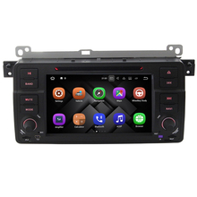 Android 7.1 1024*620 Car DVD Player GPS Navigation with Auto Radio For BMW 3 M3 E46 318i 320i 325i 328i Rover 75 MG ZT Can Bus(China)