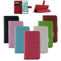 Flip Wallet Case For Alcatel U5 Cover PU Leather Conque With Stand Card Slot Phone Bags Cases Capa Fundas