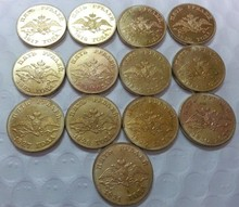 (1817-1831) RUSSIA 5 ROUBLES GOLD  X 13 COINS COPY FREE SHIPPING