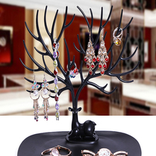 Creative Jewelry Necklace Ring Earring Storage Holder Tree Deer Display Rack Desk Accessories Bracelet Shelf Stand Organizer Hot