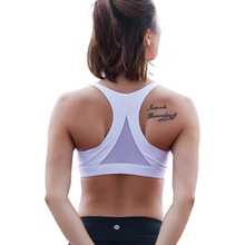 Mermaid Curve 2017 New Style Women Fitness Bra Sports Hollow out Back Triangle Solid color LULU push-up Yoga bra Run GYM Tops(China)
