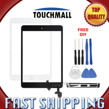 For New Touch Screen+Home Button+IC CHIP+Camera Holder For iPad Mini 1 A1432 A1454 A1455 Mini 2 A1489 A1490 A1491 Free Shipping