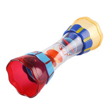 Baby Kids Shower Bath Beach Toy Funny Water Rotating Cylinder Observation Cup