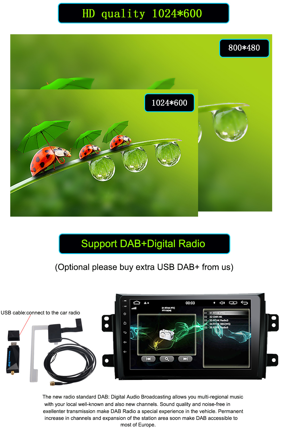 2 DIN Car Android Radio multimedia Player For Suzuki SX4 2006-2013 Quad Core 9 1024600 Bluetooth 2 Din Car DVD GPS Navigation