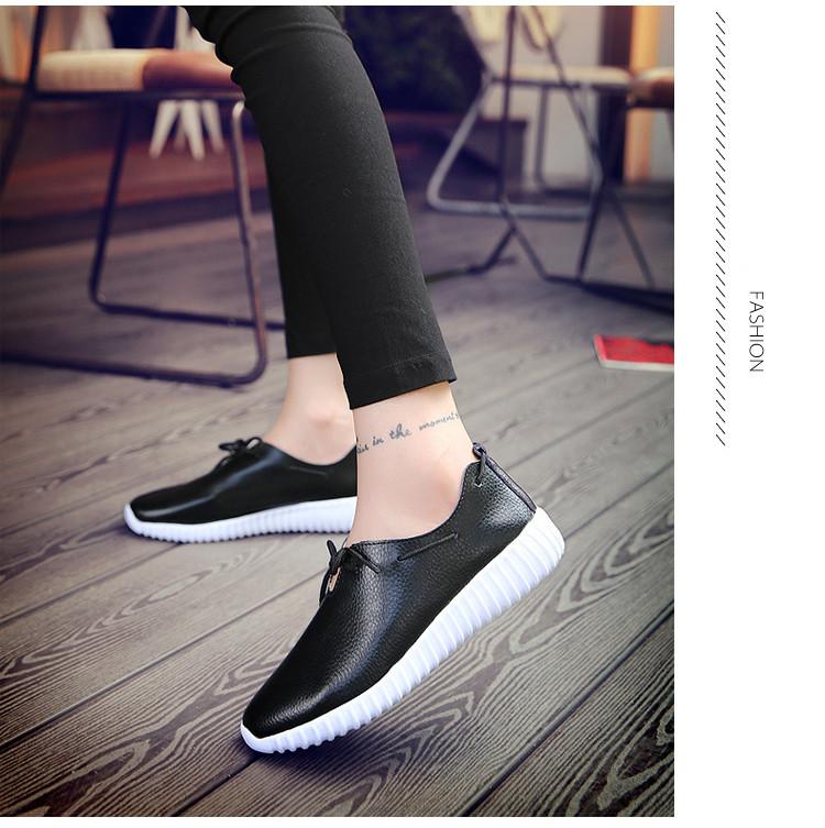 AH 2816 (17) Women's Leather Flats Shoes