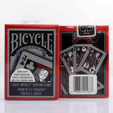 1 DECK Bicycle Tragic Royalty Standard Poker Playing Cards tragicroyalty deck Brand New Deck Magic Cards MagicTricks props(China)