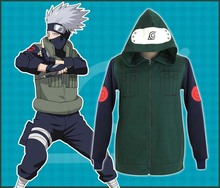 naruto costume Kakashi Hatake clothing for women and men disfraces new arrival halloween cosplay hoodies