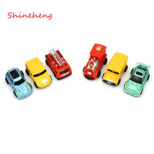 Shineheng Hot Sale 1 Piece Magic Truck Toy Inductive Car Magia Excavator Tank Construction Cars Free Shipping