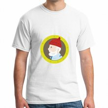 Life Aquatic fan art 2017 Newest Design Japan Comics Free Shipping Cartoon theme T-shirt