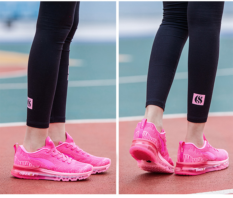 ONEMIX Women Running Shoes Weave Breathable Sport Shoes Air Cushion for Women 17 New Sneakers Athletic Outdoor Sport Shoes 7