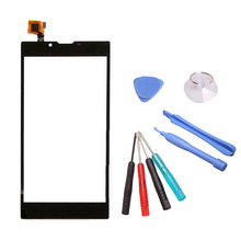 LINGWUZHE Touch Screen For ARK Benefit M6 Cell Phone Digitizer Glass Panel Replacement With Toolkit