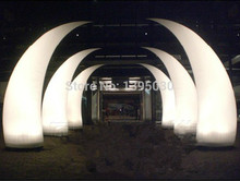 LED Inflatable Light with Inner Blower for Hotel Celebration Waterproof Nylon Fabric Inflatable Tube for Dinning Room