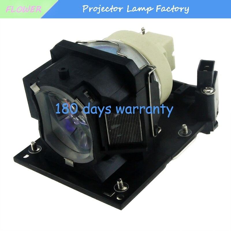 Projector lamp DT01251 / DT01381 for CP-AW250NM A220M A220N A221N A221NM 222NM A250NL A300 MA300N A301N A301NM<br>