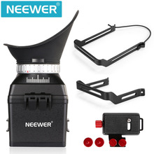 Neewer Universal 3X Magnification LCD Viewfinder with Flip-Up Eyepiece+Extend Bracket for Canon/Nikon/Sony/Olympus/Pentax DSLR