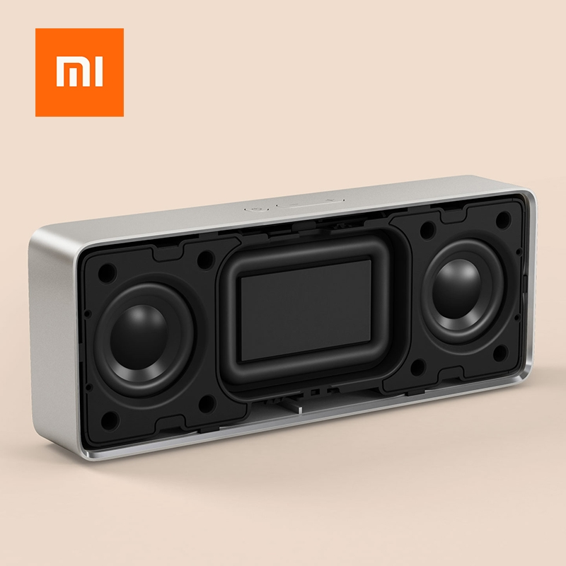Xiaomi Square Box Speaker 2 Portable Wireless Bluetooth Mini Handsfree Call USB Amplifier Stereo Sound Box Portable MP3 Player (2)