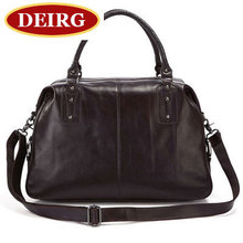 Vintage Genuine Leather Unisex Travel Bag Oil Wax Stylish Handbag Messenger bag Trip Bag for Men and Women # PR577071