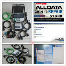 2017 alldata repair software v10.53 + 2017.09 mb star c4 hdd 1tb with laptop cf19 cf-19 diagnostic computer 3g ram ready to use
