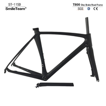 2017 T800 Chinese Factory Road Full Carbon Bicycle Frame,Disc Brake Carbon Bike Frame,Disc brake Road frame with 135x9mm Spacers