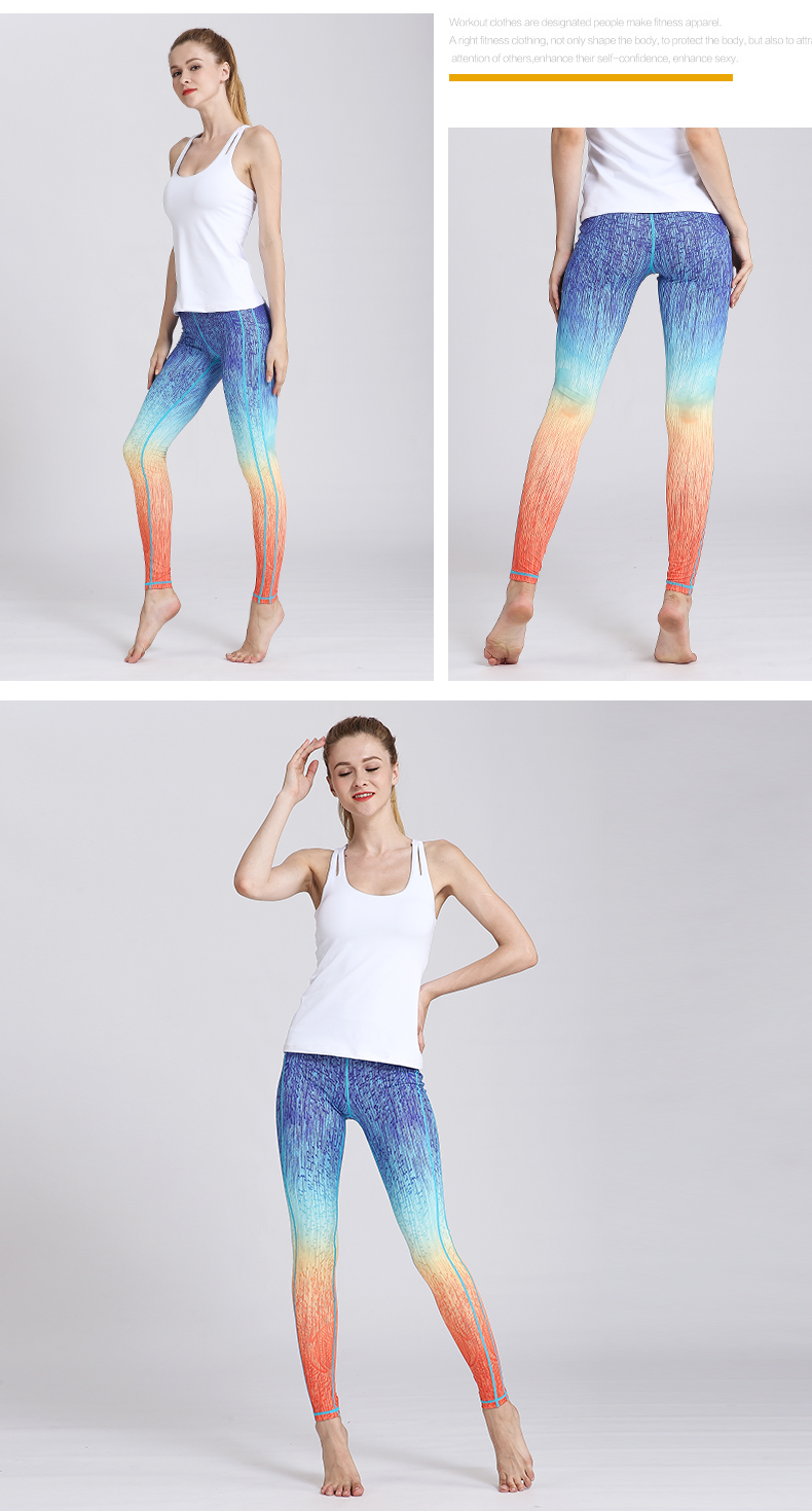 women Yoga Pants Slim Waist (5)